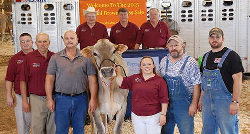 Brown Swiss Sale a Success